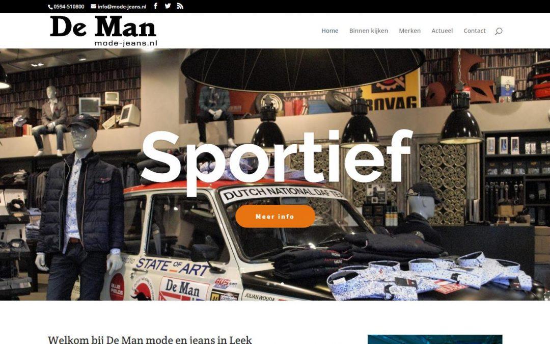 De Man mode-jeans.nl